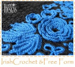 Irish Crochet Free Form