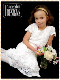 bridesmaid christening crochet dresses2