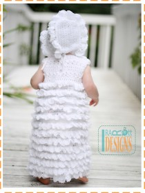 christening crochet baby dresses2