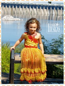 crochet princess dress2