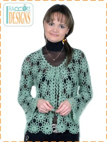 green lace cardigan4