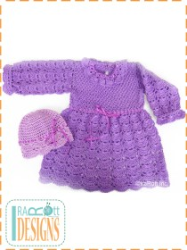 large fan baby dress
