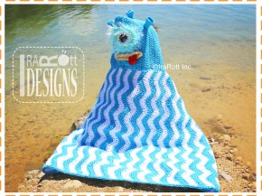 alien monster beach towel