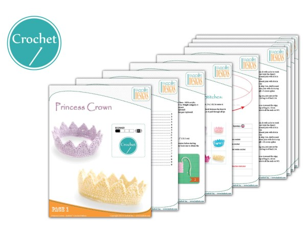 Free Princess Crown Pattern by IraRott