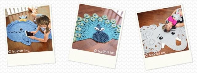 Crochet Rug Patterns by IraRott