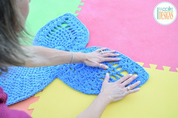 Spray Blocking Tutorial for Knit and Crochet Projects by IraRott