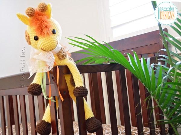 Rusty the Giraffe Amigurumi Toy Crochet Pattern by IraRott