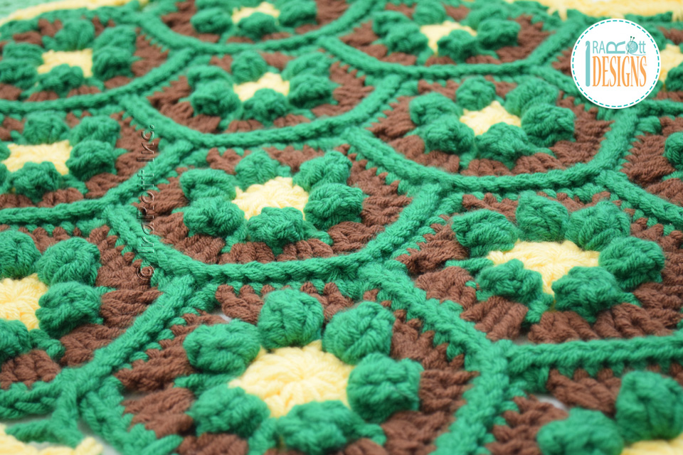 Join-As-You-Go With Single Crochet