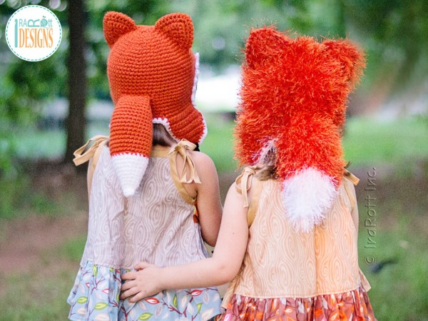 Crochet Fox Tail FREE Pattern By IraRott