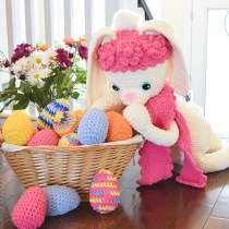 Sunny The Big Easter Bunny Crochet Pattern By IraRott