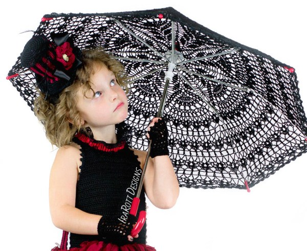 Kids Crochet Parasol Pattern By IraRott