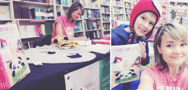 Crochet Animal Rugs Book Signing