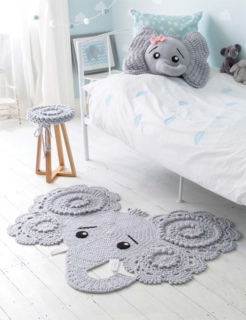 Crochet Animal Rugs Book By IraRott