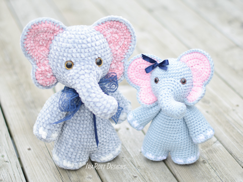 Chubby Little Elephants New Crochet Collection