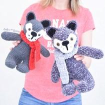 Crochet Wolf Amigurumi Pattern by IraRott