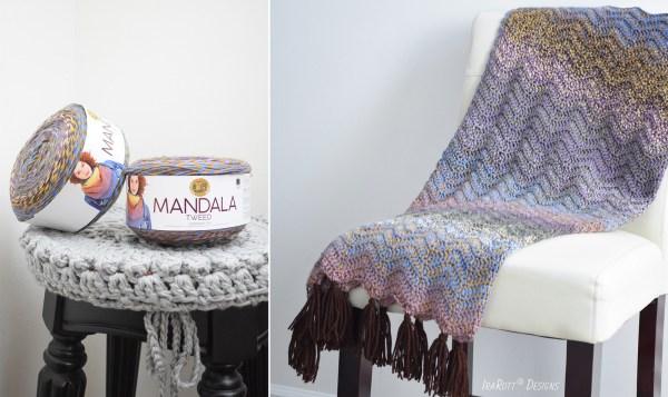 Lion Brand Mandala Tweed Yarn Review By Ira Rott