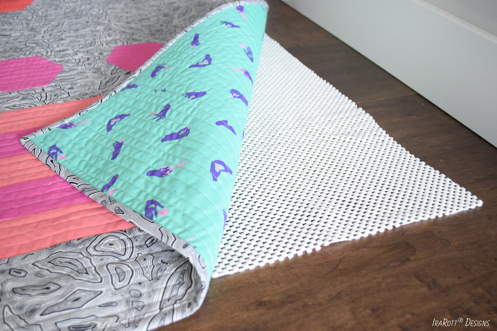 Non-Slip Lining For Quilted Rugs