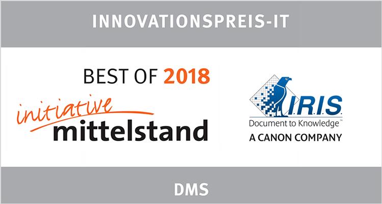 Mittelstand Award IRIS Innovation
