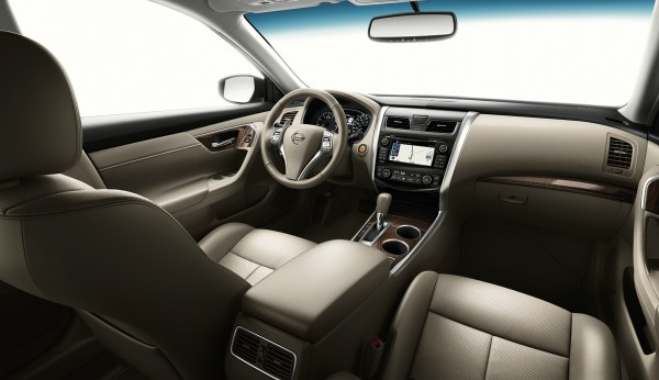 Honda Interior Accord Leather Red 2013