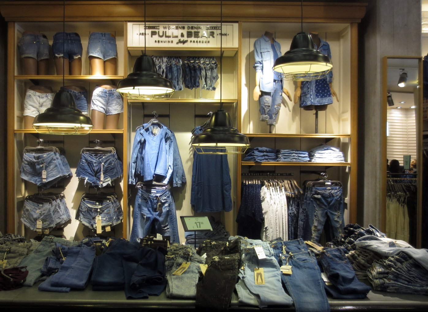clothing power wall