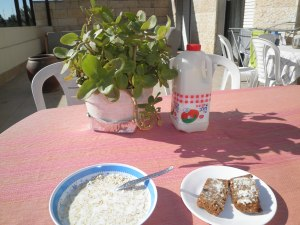 Morgenmad i Jerusalem