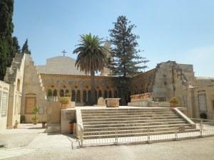 Kirken Pater Nostra, som er kendt for at have Fadervor på alverdens sprog.