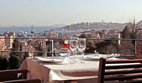 Tomtom Suites rooftop restaurant La Mouette