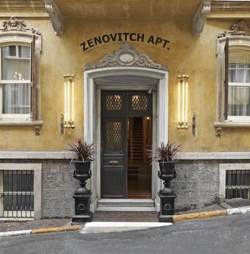 Main entrance of The House Hotel Galatasaray