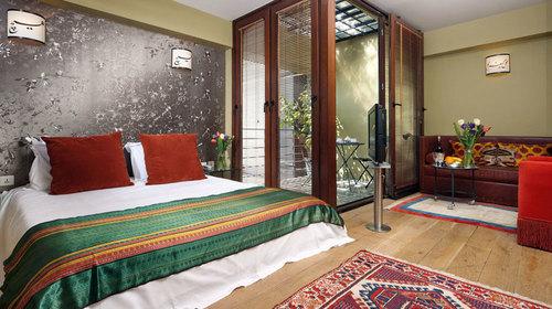 A room of Ibrahim Pasha Boutique Hotel, Sultanahmet