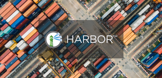 VMware Harbor is a docker images registry. You can use it instead of docer registry from official repository.