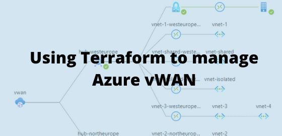 Using Terraform to manage Azure vWAN