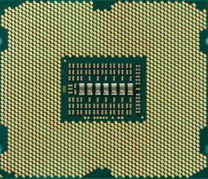 HP Machine image of Xeon cpu