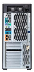 HP-Z840 workstation Back
