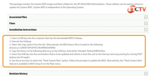 HP Z8 G4 Workstation Installation Instructions