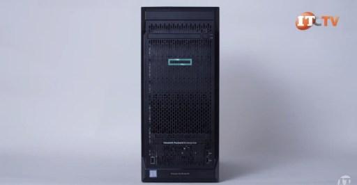 HPE ProLiant ML110 Gen 10 Server Front