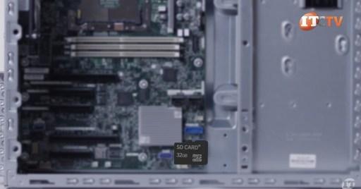 HPE ProLiant ML110 Gen 10 Server SD Card