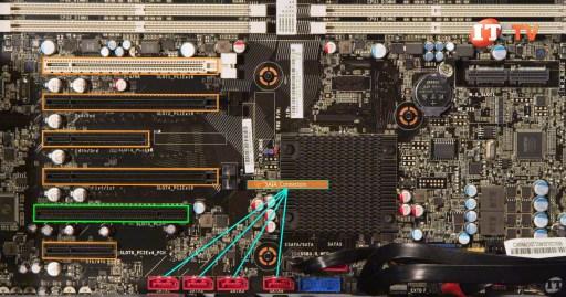 ThinkStation P720 SATA Connectors & PCIe Slots