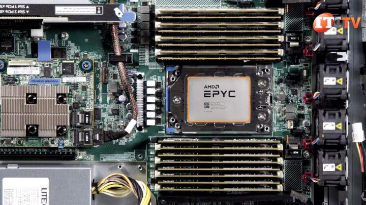 SIngle AMD EPYC in HPE ProLiant
