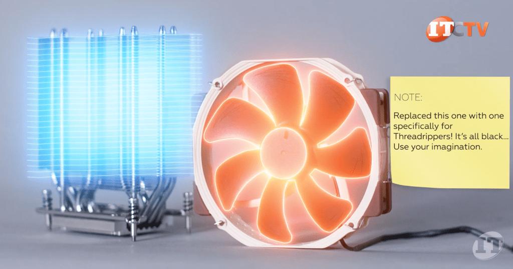 AMD Ryzen threadripper fans and heatsink