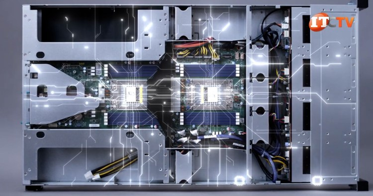 Tyan TN83B8251 B8251T83E8HR-2T-N interior