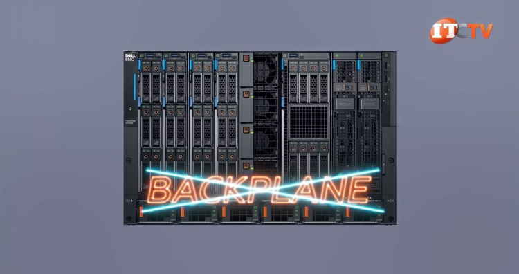Dell PowerEdge MX7000 chassis no backplane