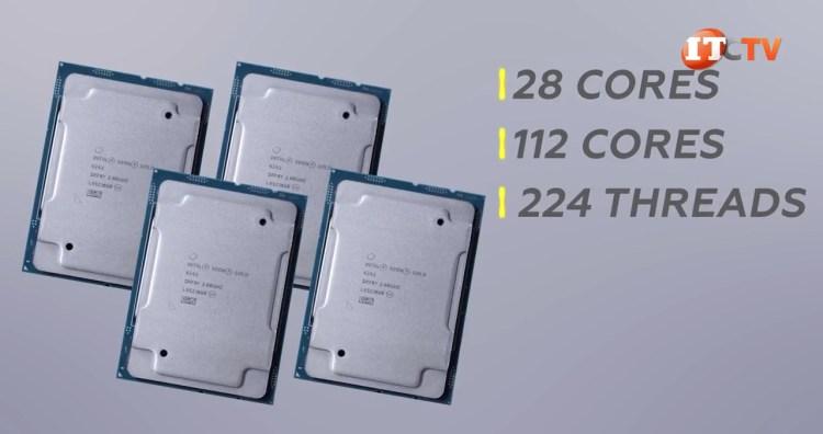 Dell PowerEdge MX840c compatible cpus