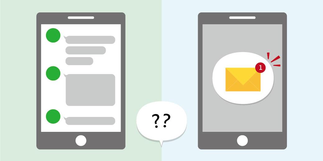 sms-vs-line-message