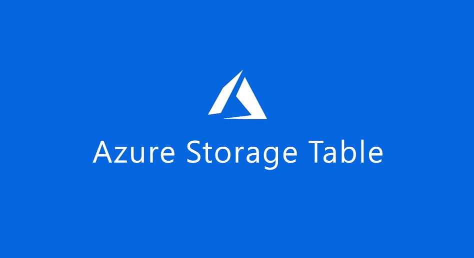 Azure Storage Table