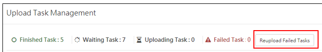 Manage your upload files