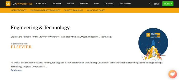 QS Engineering and Technology