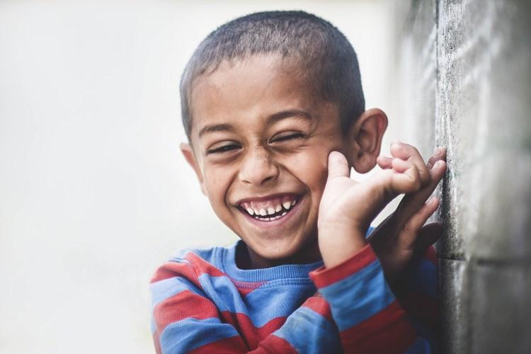Enfant souriant-Joie de vivre-Emotion Positive