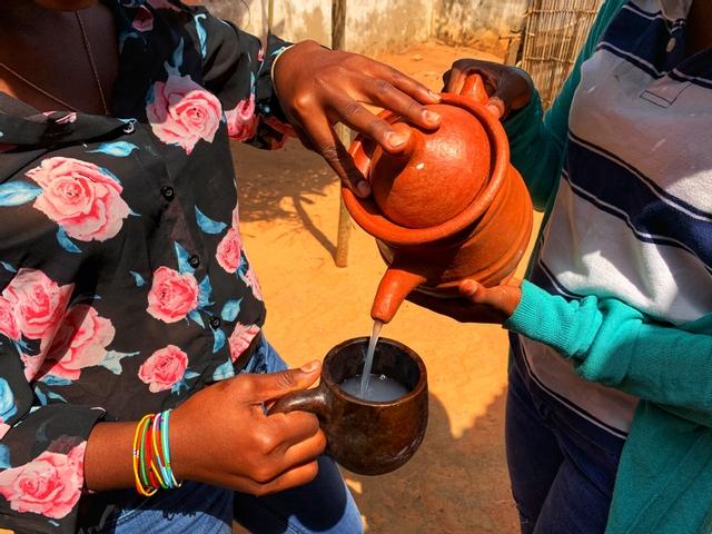 tradition hospitalité vin de palme