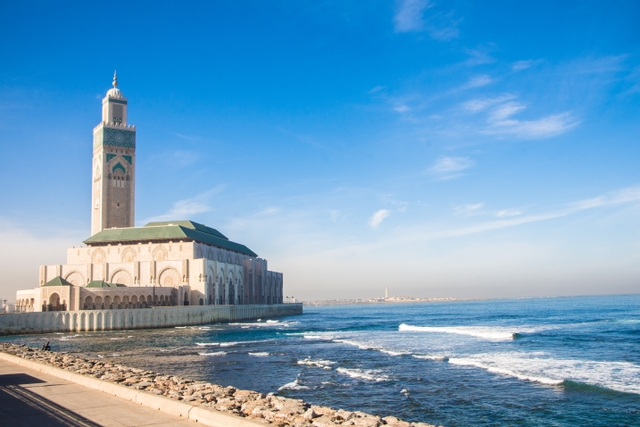 mosquée hassan II Maroc architecture afrique