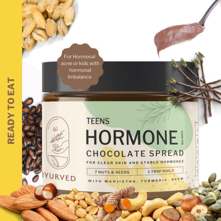Iyurved's Teens Hormone Balance Chocolate Spread